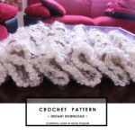 crochet easy scarf